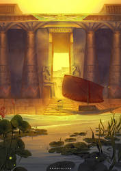 Egyptian City Gate