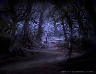 Forsaken Woods by Nele-Diel