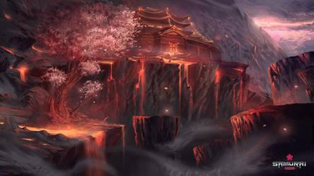 The Blazing Cliffs