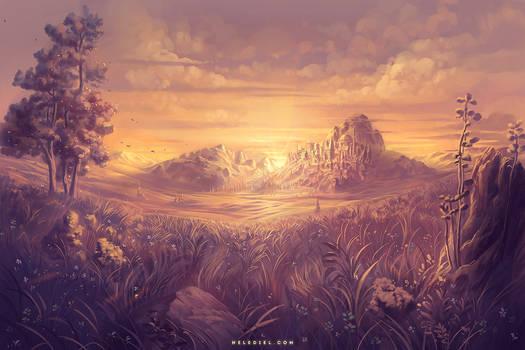 Sunlit Plains