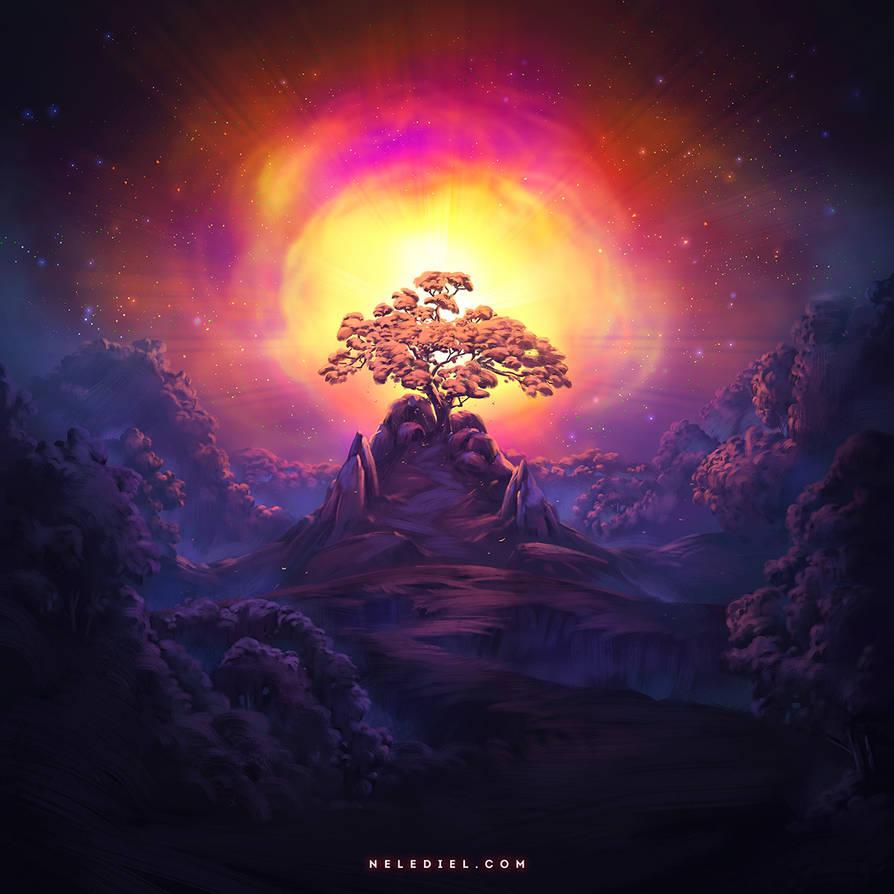 Cosmic Energy by Nele-Diel