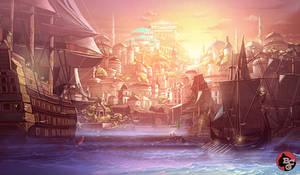 Peaceful Harbour City