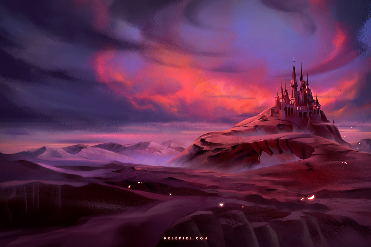 Castle at Dusk