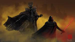 Dark Lord vs Sith Lord