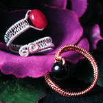Woven Wire Adjustable Ring