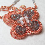 Woven Butterfly Necklace