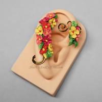 Flower Ear Wrap
