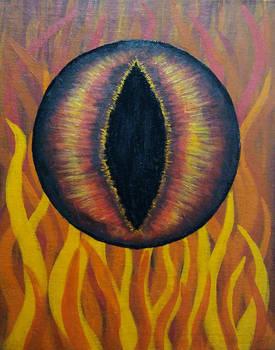Dragon Eye Painting