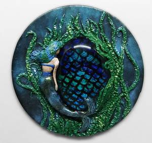 Mermaid - Polymer Clay WIP