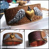 W.I.P. Avenging Angel Bracelet