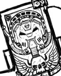 Sketch: wh40k Terminator