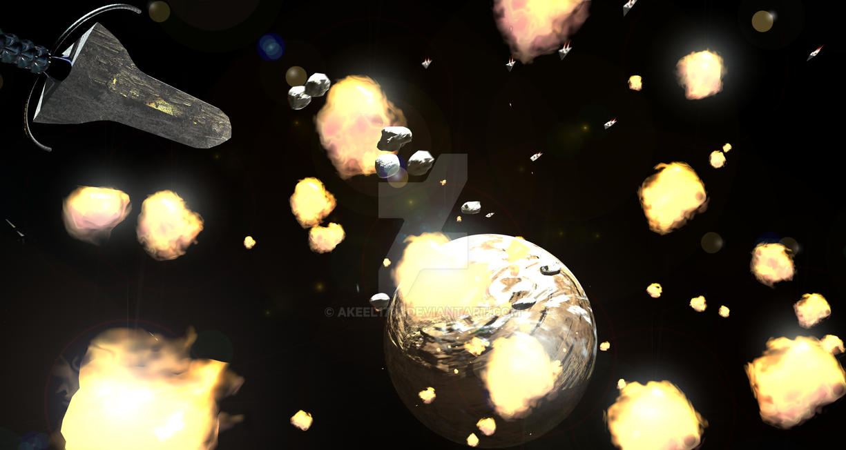 Harad: Tiami forces break down planetary defences by akeel1701