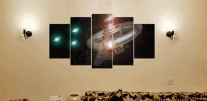 Imperator Decimus - 5 canvas wall print