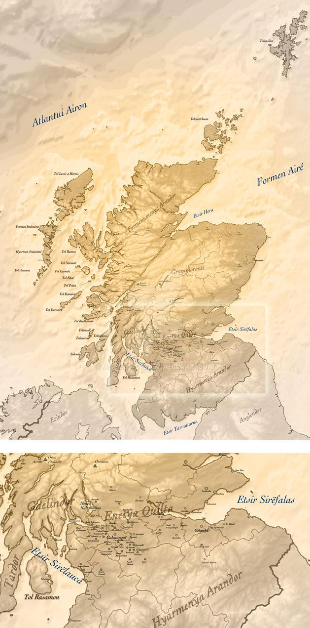 Tolkein's-Scotland by akeel1701