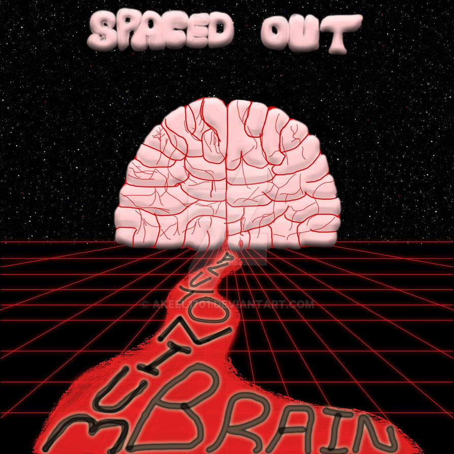 Spaced Out Plutonium Brain Album Cover by akeel1701