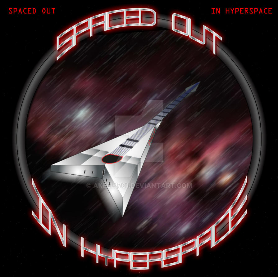 Spaced Out in Hyperspace Album Cover by akeel1701