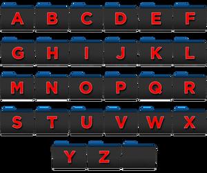 Black-Folder-Composite Icons