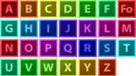 Adobe CS6 style Alphabet Icons