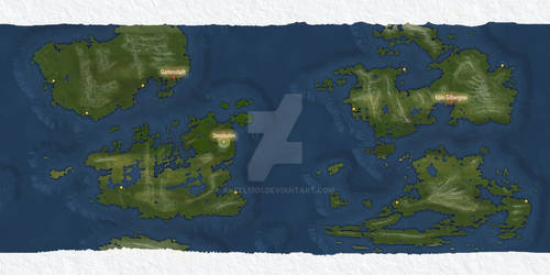 Feuerhund, a world in the Kaylenese Star Empire