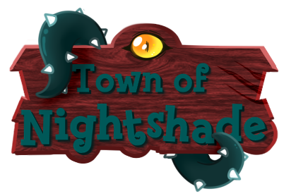 Town Of Nightshade Logo by BankOfLilypad