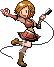 Sakine Meiko Pokemon Sprite by CherushiMetsumari