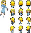 Maria Robotnik Pokemon Sprite by CherushiMetsumari