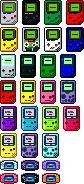 Nintendo Handheld Emoticons by CherushiMetsumari