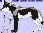 Jc Character wolf. Very old