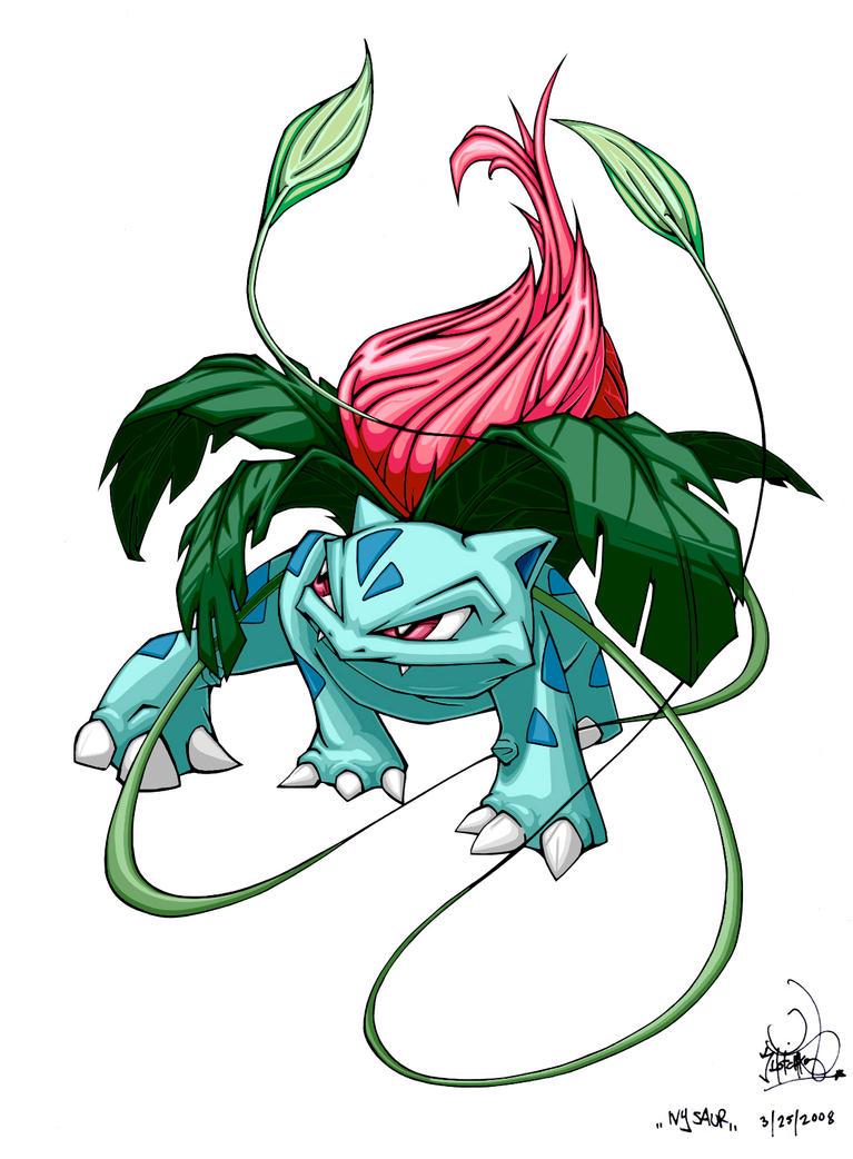 Ivysaur by pnutink