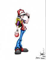 Pokemon Trainer by pnutink