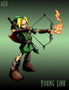 young link with bg