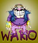 wario with bg