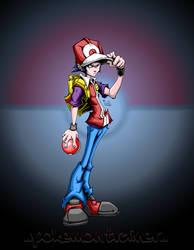 pokemon trainer with bg