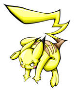 pikachu by pnutink