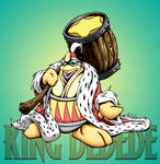 king dedede with bg