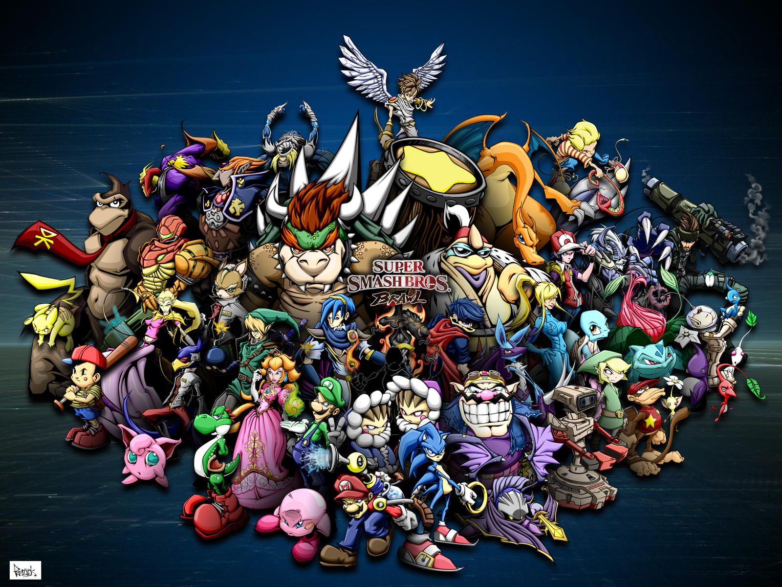 descargar super smash brawl