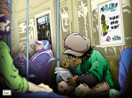 amir subway color by pnutink