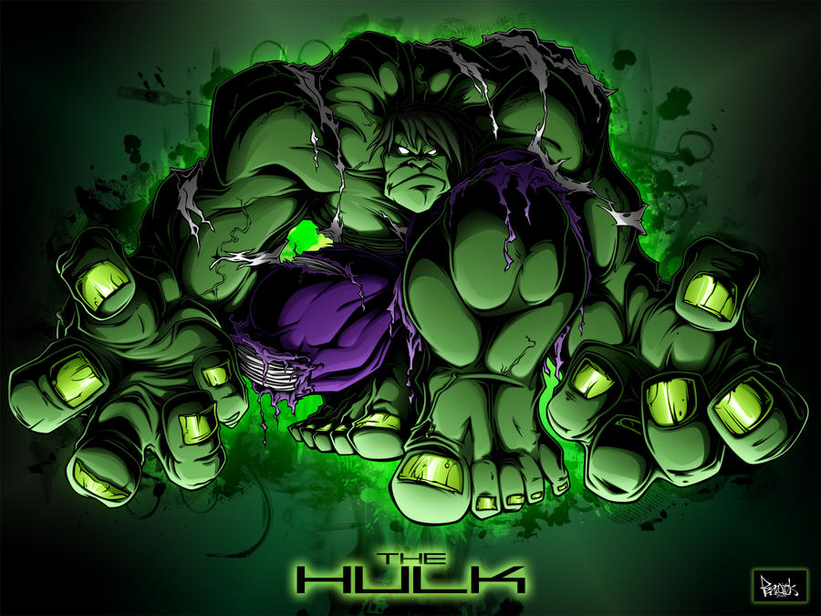 The Hulk by pnutink
