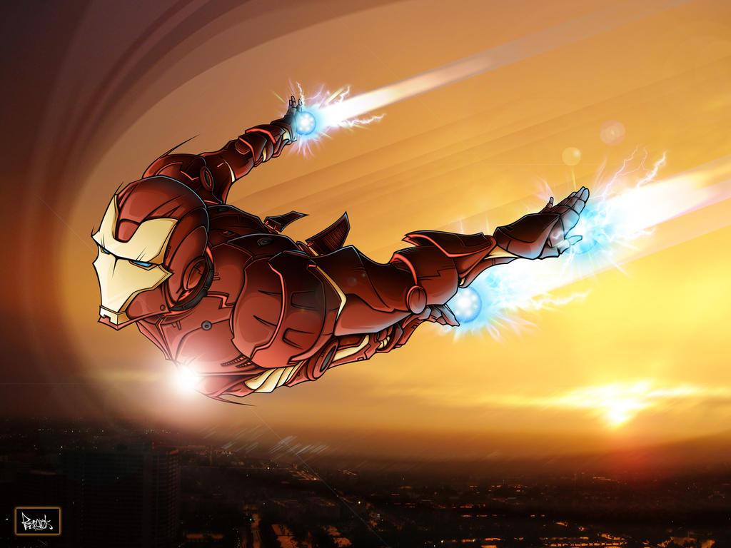 Iron man by pnutink