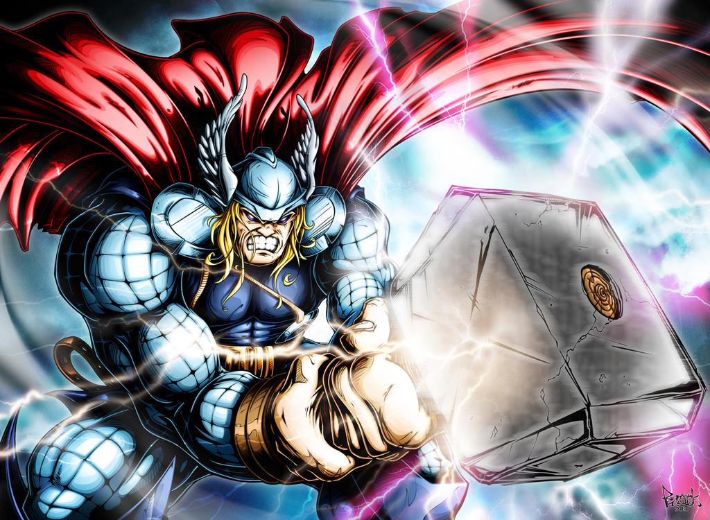 Thor by pnutink
