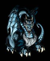 Blue Dragon by pnutink