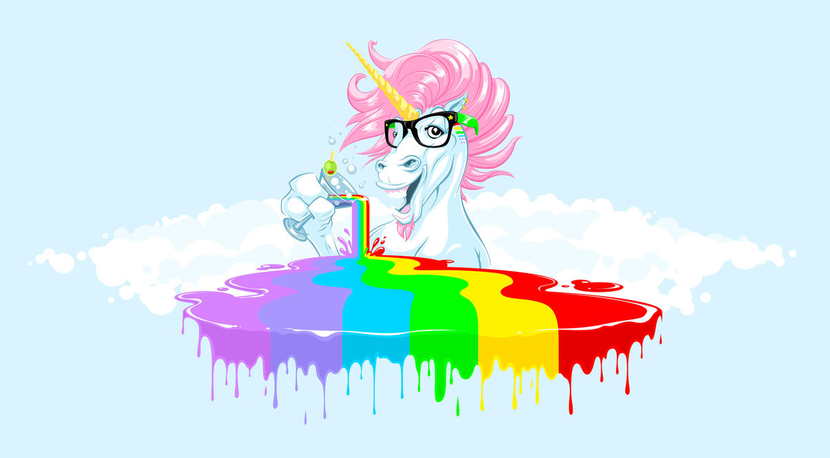 unicorn libation by pnutink