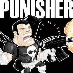 MARVEL MINIS - Punisher by pnutink