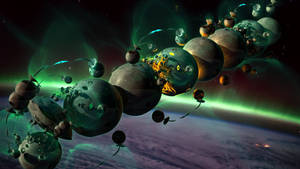 Space Bulb One by GBLXVIII