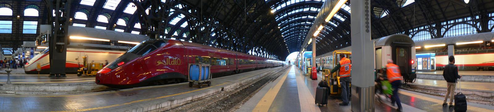Milano  Train station Centrale by GBLXVIII
