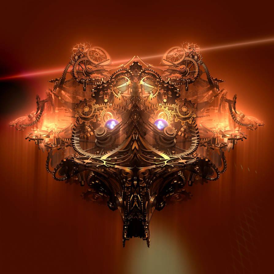 Clockwork god by GBLXVIII