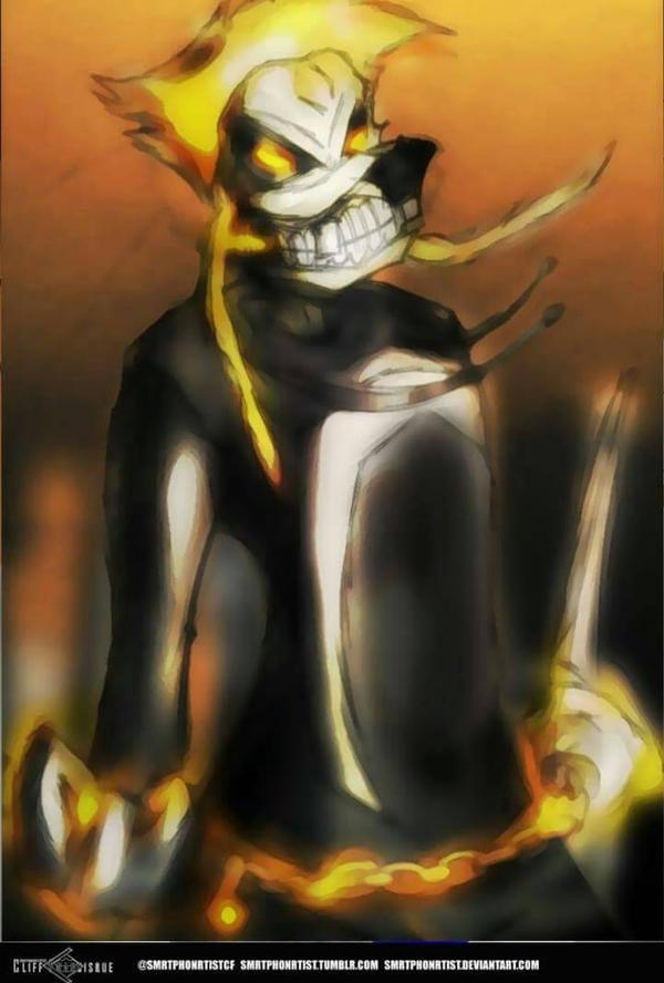 Ghost Rider Max goof.  by SmrtPhonRtistCF