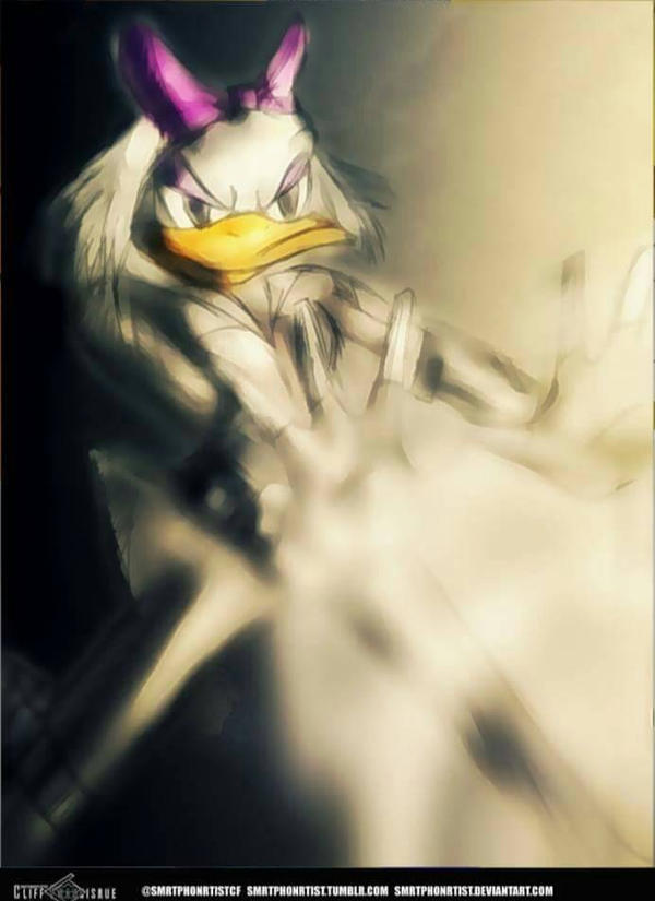 Daisy (Duck) Johnson / Quacke  by SmrtPhonRtistCF
