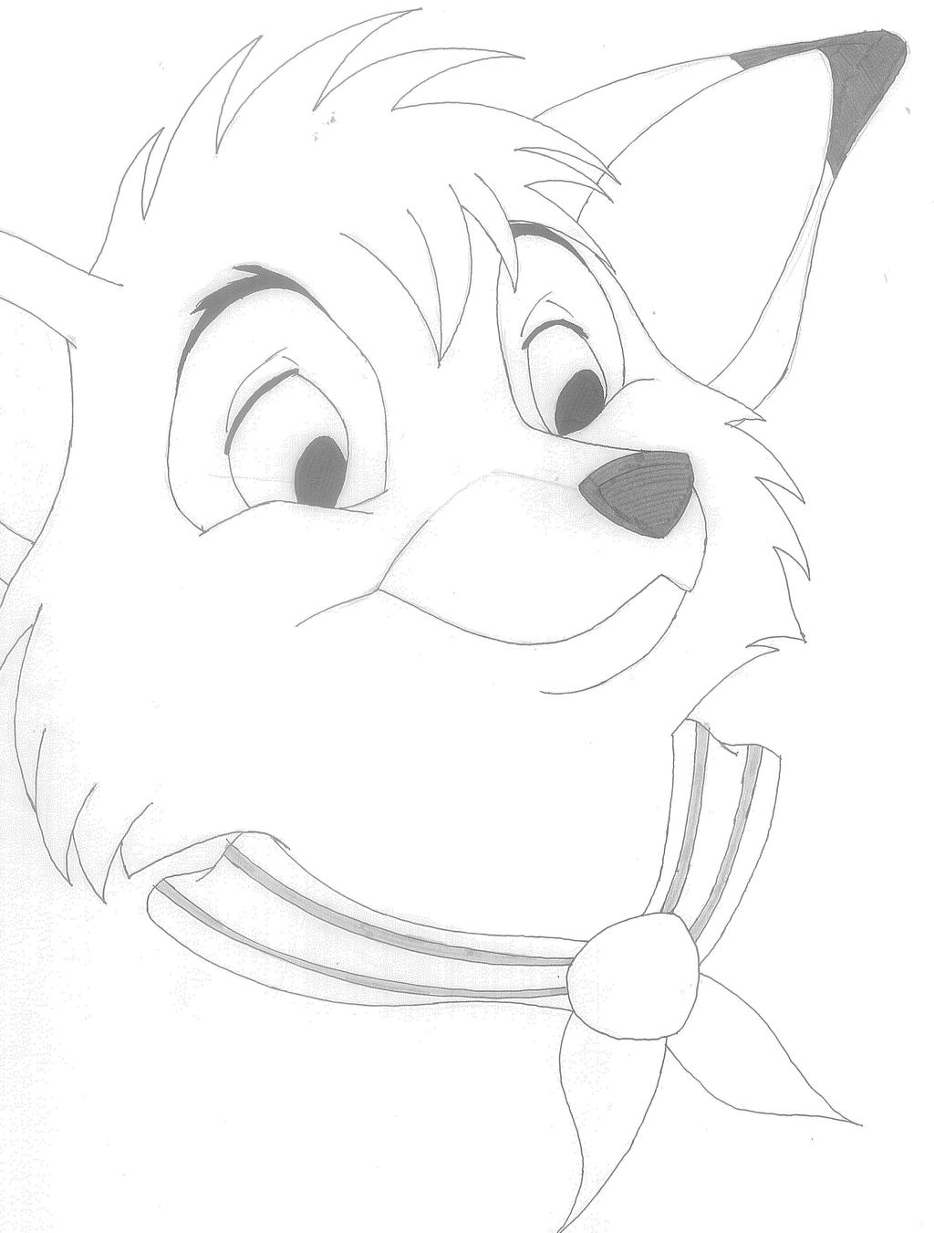 Famous Fox And The Hound Coloring Pages Copper Composition - Resume ...