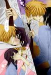 Usui and Misaki kiss